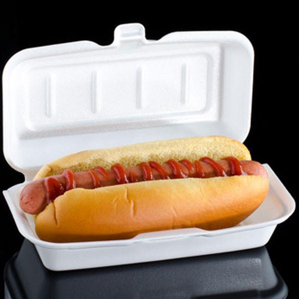 FOAM HOT DOG BOX