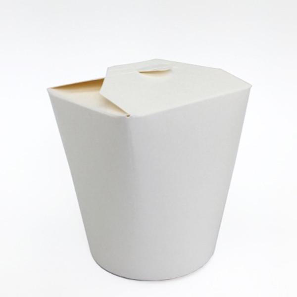 White Noodle Box