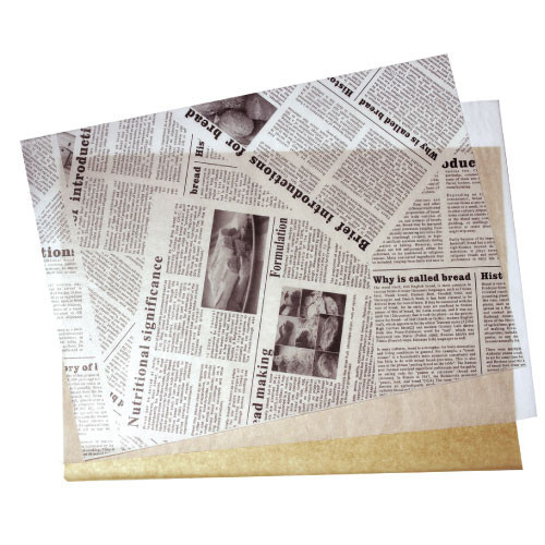 GREASE PROOF PAPER - NEWS PAPER DESIGN