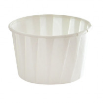 WHITE PAPER BAKING CUP